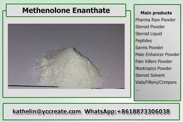 China Steroid Ruw Poeder Methenolone Enanthate/Primo E voor Steroid Cyclus CAS 303-42-4 verdeler