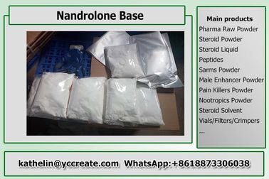 China Hormoon Steroid Nandrolone/Basis/Norandrostenolon van Nandrolone voor Bodybuilding CAS 434-22-0 fabriek