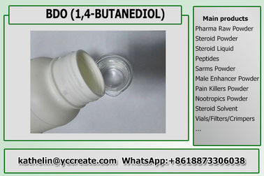 China Pharma Solvents 1,4-butaandiol / BDO / BD-tussenproducten Vloeibaar CAS 110-63-4 verdeler