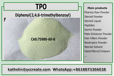 China Photoinitiator TPO/Diphenyl 2,4,6 - Trimethylbenzoyl-Fosfineoxyde Usedd in UVcas 75980-60-8 verdeler